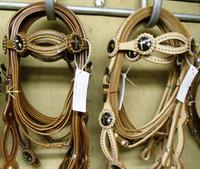 Full line of bridles.