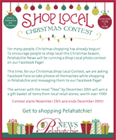 We were proud to sponsor the Shop Local contest this year, 2013
