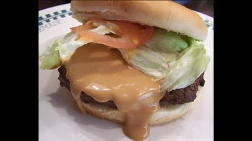 Peanut Butter Smoked Burger