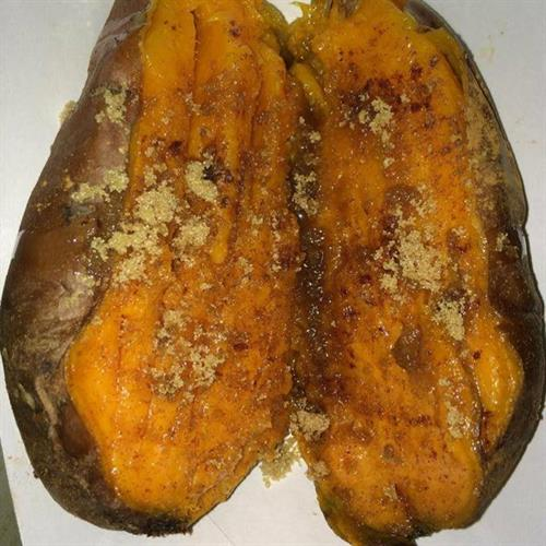 Smoked Sweet Potato