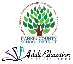 Rankin County Adult Education and Mississippi Adult Education Logo