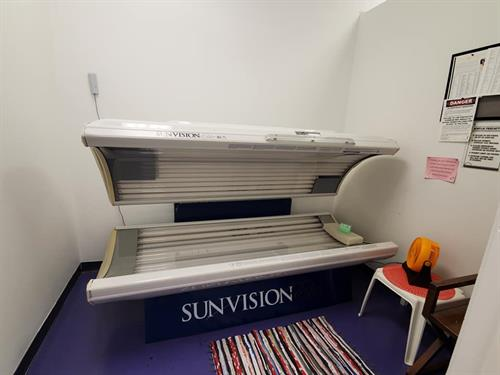Super Tanning Bed