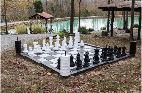 Giant Chess/Checkers set