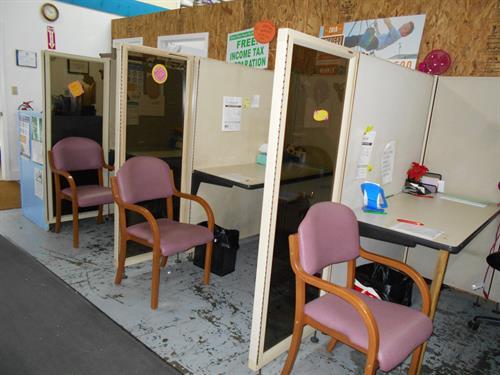 Adviser Booths