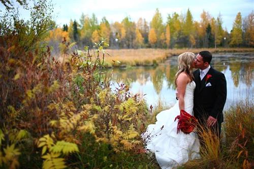 Fall Wedding at Bayshore
