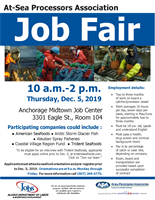 At-Sea Job Fair Will Be Recruiting At the Anchorage Midtown Job Center!