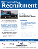 BAC Transportation is Recruiting