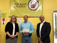 Alaska USA Federal Credit Union members and Alaska USA Foundation raise $93,500 in annual food drive