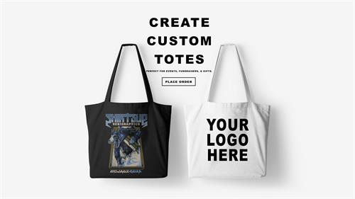 Lose those plastic grocery bags and create your own totes!