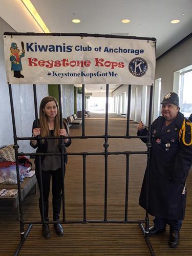 Kiwanians aka Keystone Kops at Make it Monday forum during Fur Rondy
