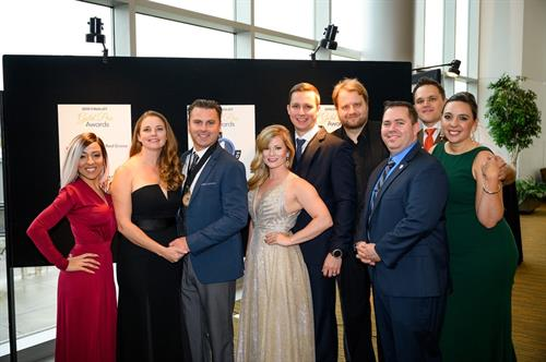 Upper One Studios at Gold Pan Awards 2019