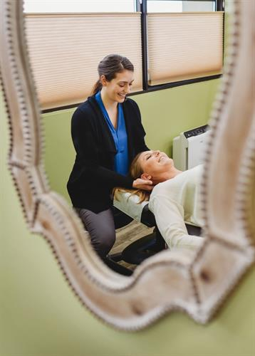Chiropractic Care: can be the manipulation of spine, soft tissue or joints