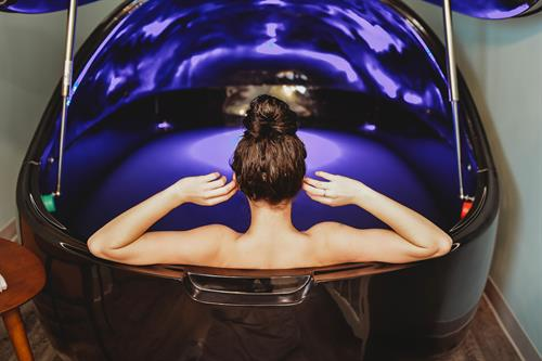 Float Therapy - First permitted Float Tank in the state of AK.  Float Therapy is used to: decrease stress & anxiety|manage PTSD|decrease inflammation & pain|help with muscle recovery & preparation for athletic events|relaxation & meditation|enhances immune system|improves sleep|boosts creativity