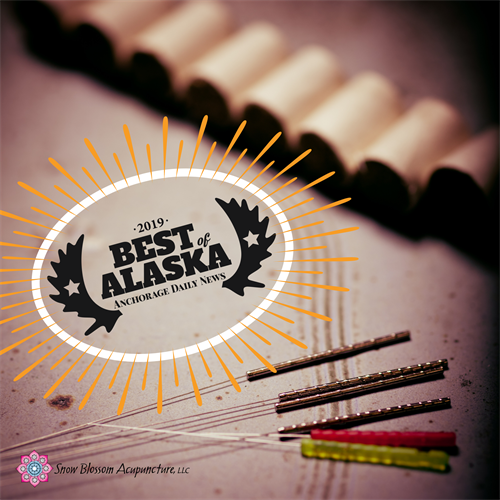 It was an honor to win the 2019 Best of Alaska - best acupuncture clinic