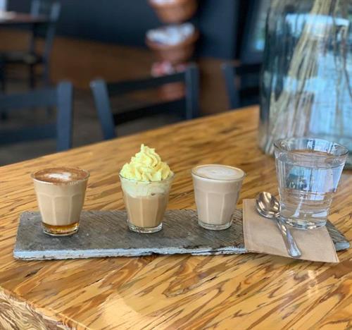 Sip Coffee Flights