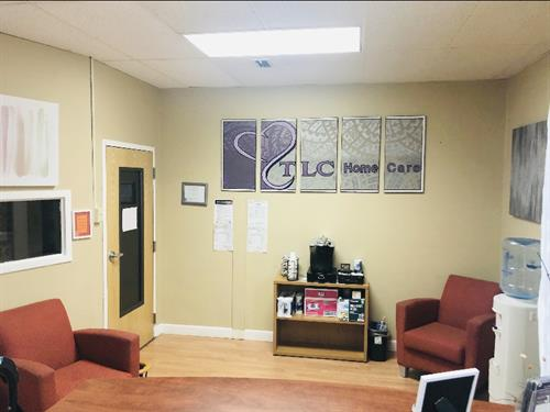 Main office Lobby area