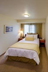 One Bedroom Queen Suite with Sofa Sleeper