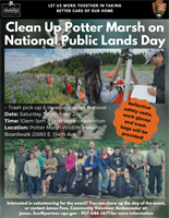Clean Up Potter Marsh - National Public Lands Day 2019