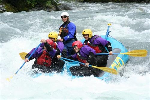 Experience a class IV and V whitewater rafting tour that will have your adrenaline pumping. Photo credit: NOVA River Runners
