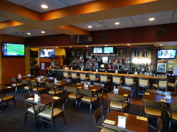 Always a great seat at Pipers for your game!