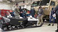 Alaska Army National Guard hosts maintenance showcase for local business partners