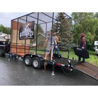 NEW! Alaska Axe Co.'s Mobile Axe-Throwing Trailer