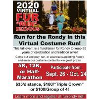 Enter the 2020 Virtual Fur Run-Dezvous!