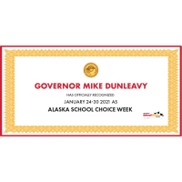 Governor Mike Dunleavy issued an official proclamation recognizing Alaska School Choice Week 2021