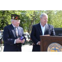 Commission Recognizes Stellar Veteran Volunteer