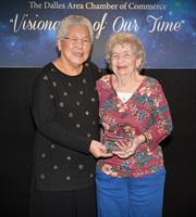 Columbia Basin Care volunteer named 'Distinguished Citizen'