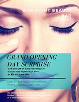 War Paint Beauty Bar - The Dalles