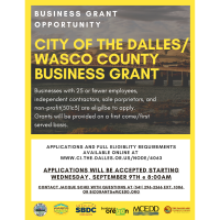 The Dalles/Wasco County Business Grant