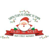 """Light the Night"" with Santa"