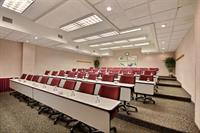 Symposium room is great for a company training session and seats up to 70 attendees