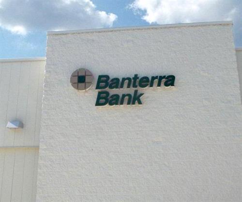 Banterra Bank (Building Sign)