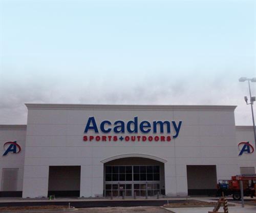 Academy (Building Sign)