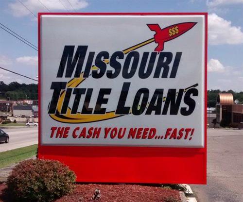 Missouri Title Loan (Monument Signs)