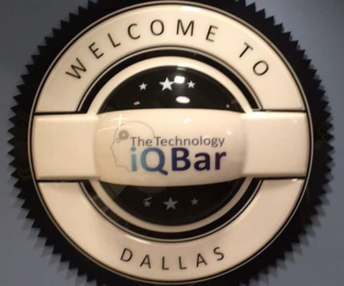 The Technology iQ Bar (Carved Signs, Specialty Interior Signs)