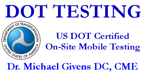 Occupational Medicine and DOT Exams, DOT Drug and Alcohol Testing