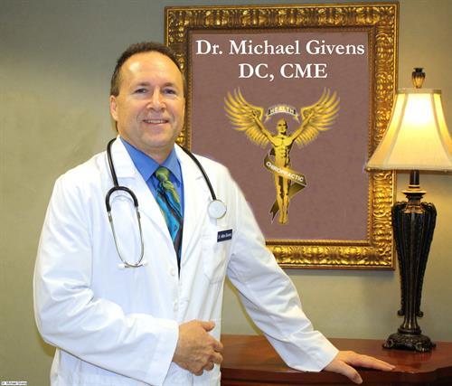 Dr, Michael Givens DC,CME
