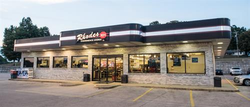 Rhodes' flagship location is on North Kingshighway in Cape Girardeau.