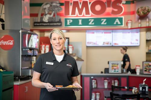 Becoming an Imo's Pizza franchise came naturally to Rhodes as the Imo's families values closely align with Rhodes' values.