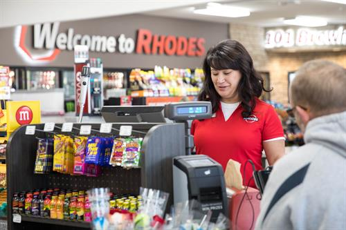 Rhodes' culture isn't founded on being a convenience store.  Its mission and values revolve around providing an excellent experience for its guests and team members.