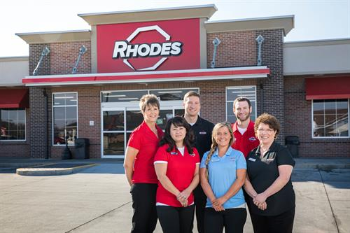 Rhodes prides itself on its people who enjoy getting to personally know their customers.