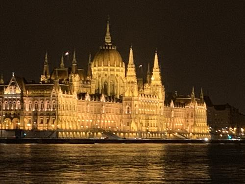 An AmaWaterways River Cruise is a great way to see the Parliment in Budapest. (AmaLea)