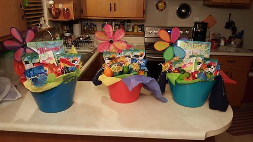 Gift Baskets for Capa Event 2018