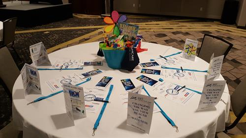 Table Set Up for Capa Event 2018
