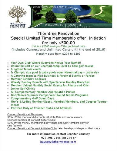 Renovation Membership offer