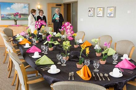 Silver Lake Room - catering services available