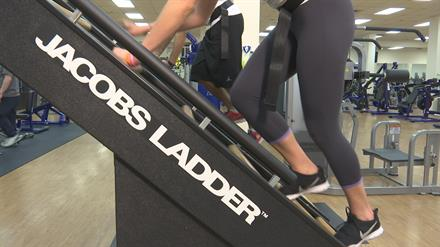 We have Jacob's Ladders for the most intense cardio workout.